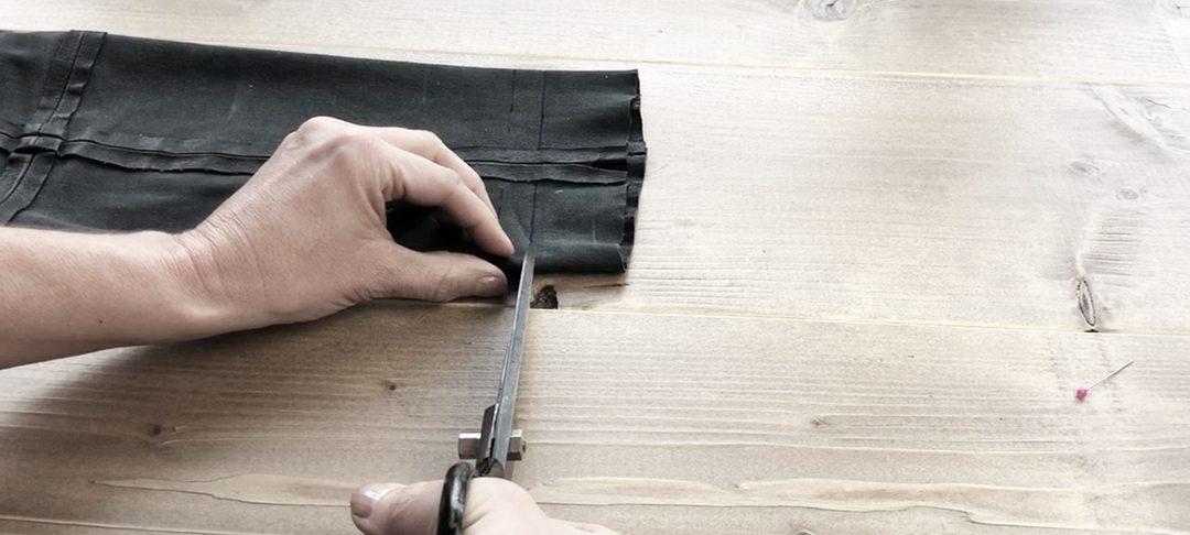 DIY – Lederhose selber kürzen