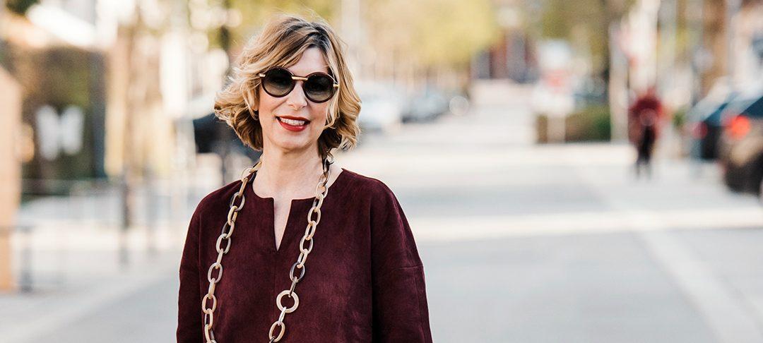 3 Tipps wie du ein rotes Lederkleid kombinierst