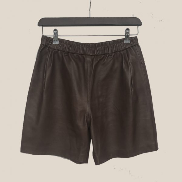 Braune Ledershorts von Ayasse