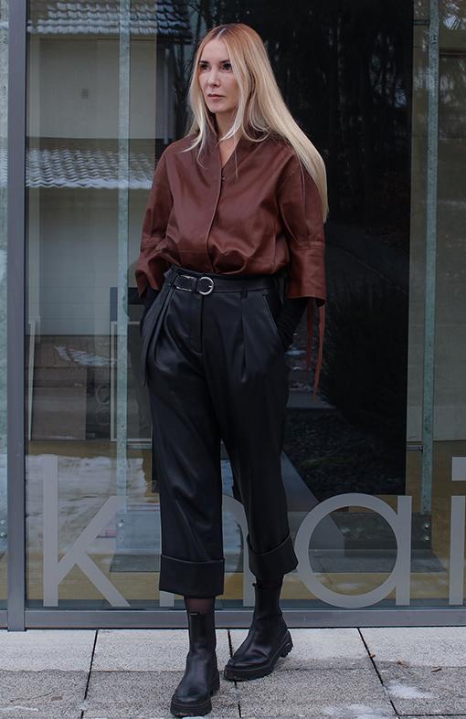 Outfit Lederhemd zu Lederhose