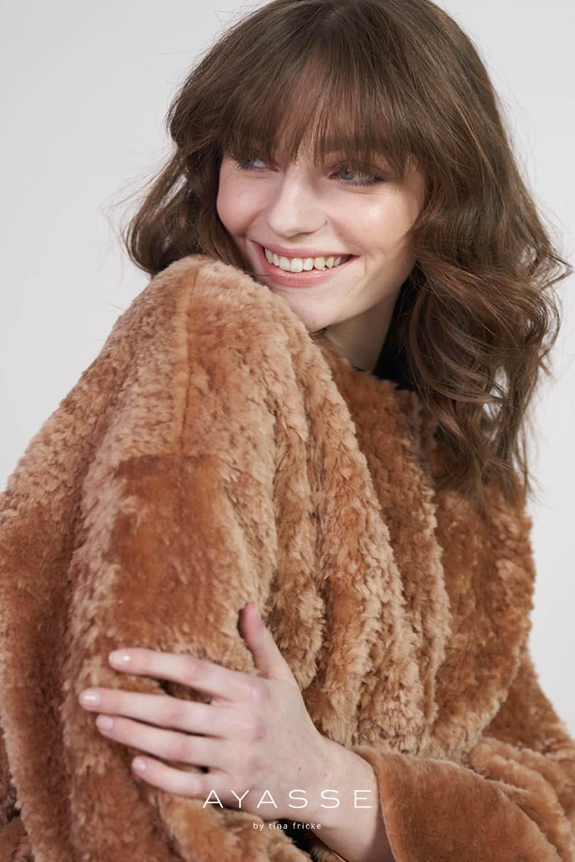 Lammfelljacke Greta von Ayasse herbst winter 2021
