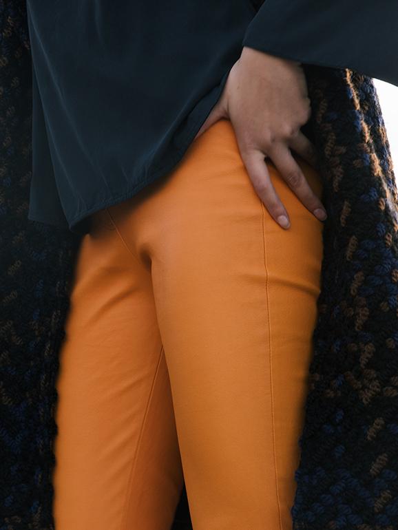 Limitierte Hose in Orange